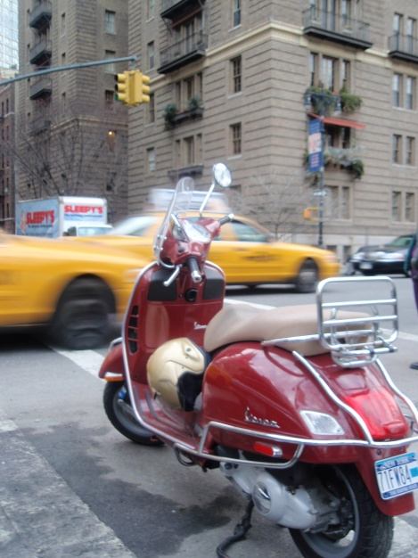 Vespa in NYC